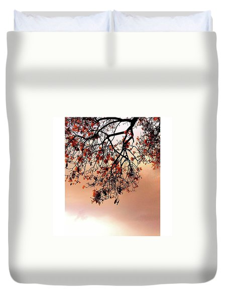 Just Like Painting Tree Duvet Cover