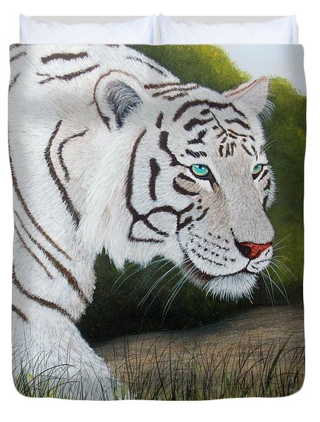 Just Looking Duvet Cover