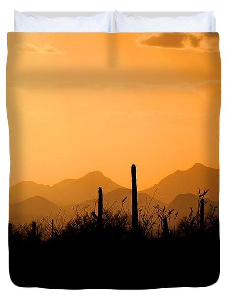 Just Made It Back To #tucson #arizona Duvet Cover