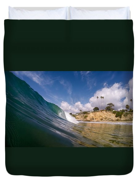 Just Me And The Waves Duvet Cover