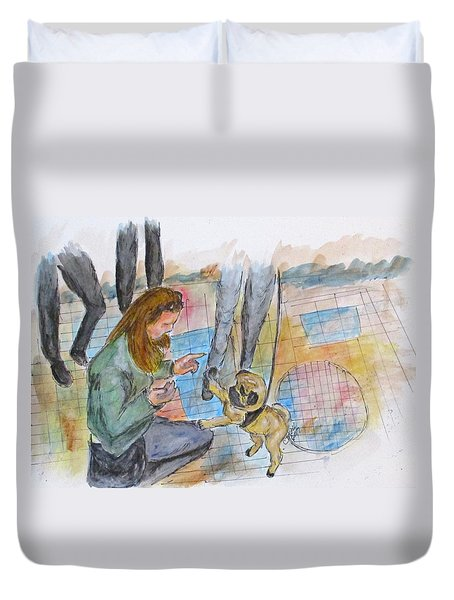 Just One More Duvet Cover by Clyde J Kell