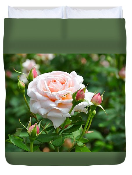 Just Peachy Duvet Cover