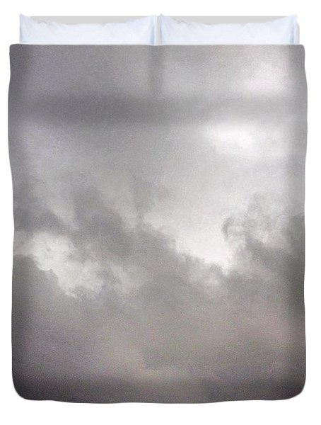 Just Some #greysky #miserable Duvet Cover