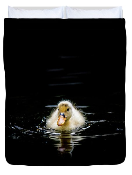 Just Swimming Duvet Cover