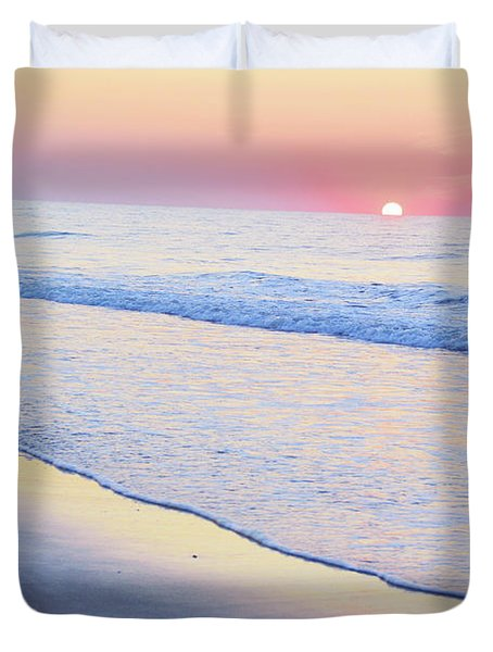 Just The Two Of Us - Jersey Shore Series Duvet Cover
