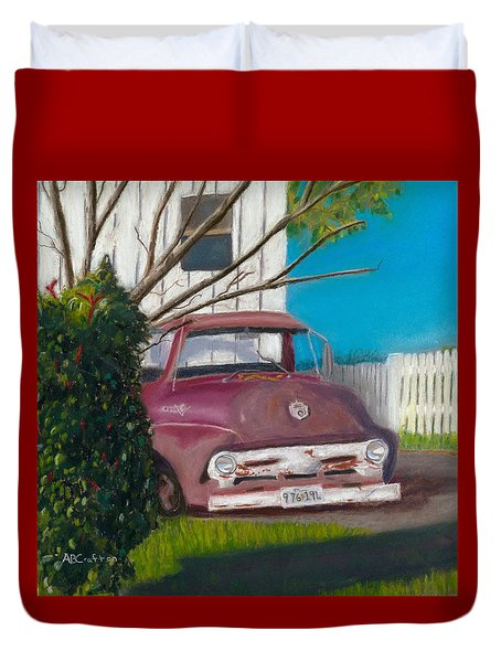 Just Up The Road Duvet Cover