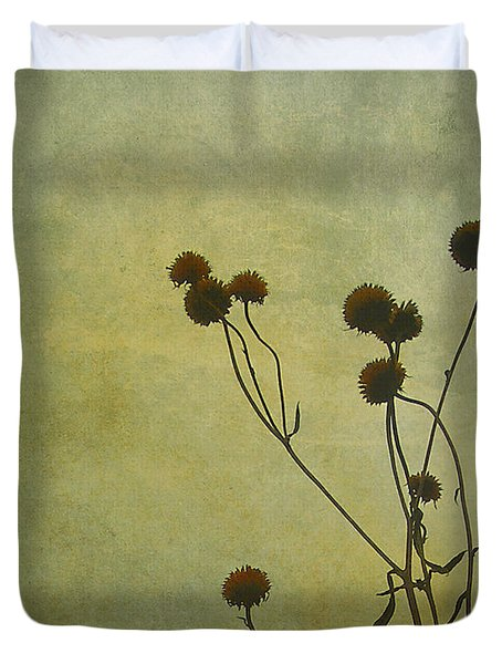 Just Weeds . . . Duvet Cover