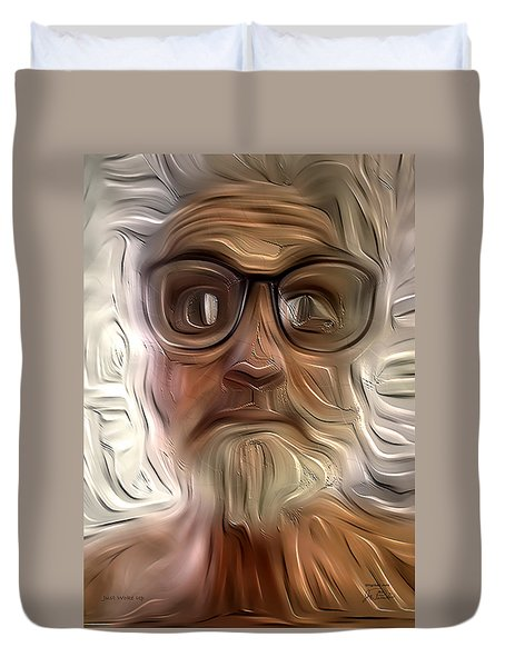 Just Woke Up Duvet Cover