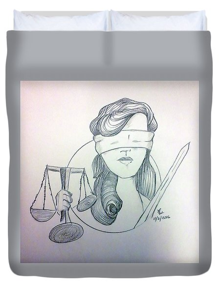 Justice Duvet Cover