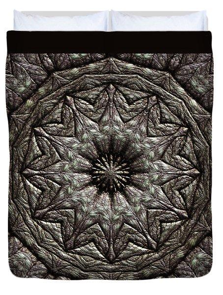Duvet Cover featuring the digital art Jyoti Ahau 213 by Robert Thalmeier