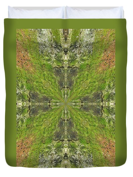 Duvet Cover featuring the photograph K 118 by Jan Amiss Photography