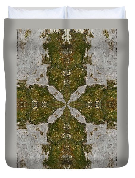 Duvet Cover featuring the photograph K 120 by Jan Amiss Photography