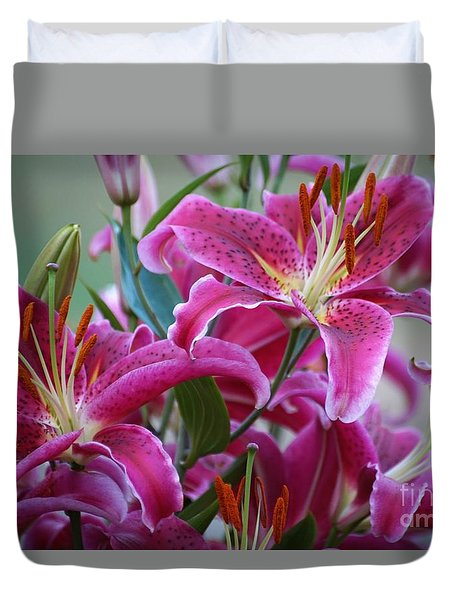 K And D Lilly 4 Duvet Cover