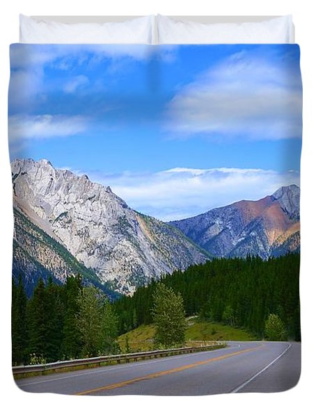 Kananaskis Country Duvet Cover