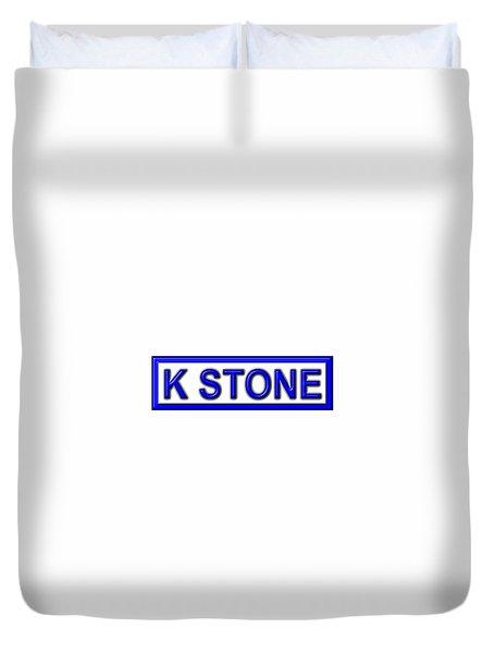 K Stone Duvet Cover