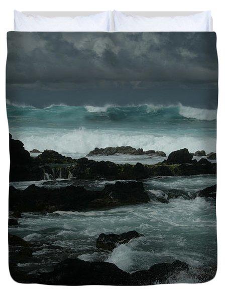 Ka Makani Kaiili Aloha Hookipa Maui Hawaii  Duvet Cover