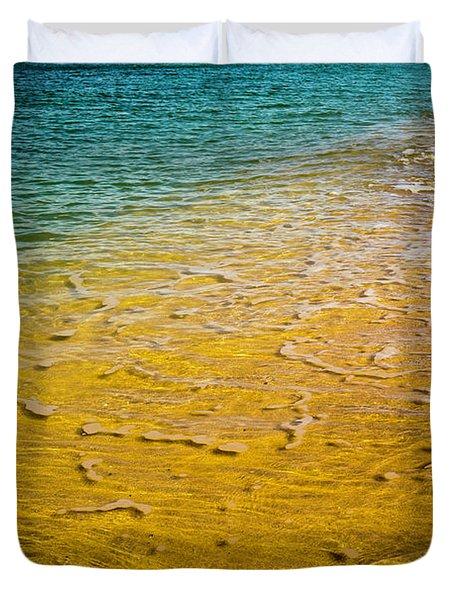 Kaanapali Beach Duvet Cover