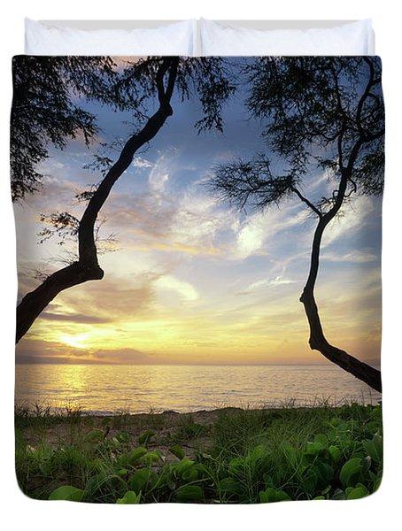 Ka'anapali Sunset Duvet Cover