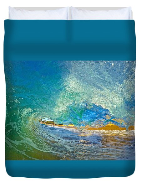 Kaanapali Wave Duvet Cover