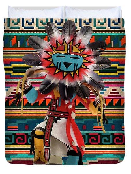 Kachina Doll Art Duvet Cover
