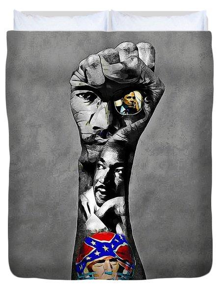 Kaepernick Fist 2 Duvet Cover