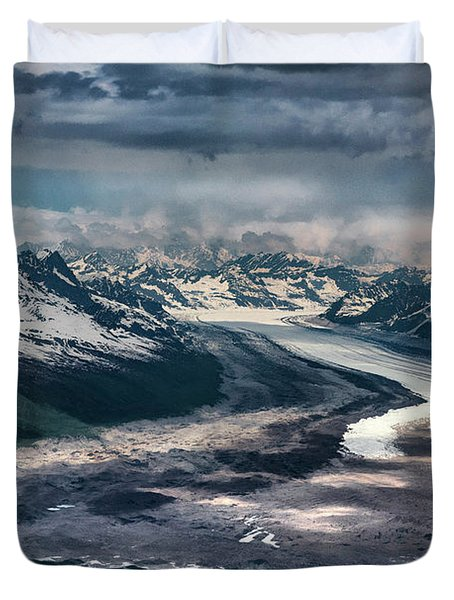 Kahiltna Glacier Duvet Cover