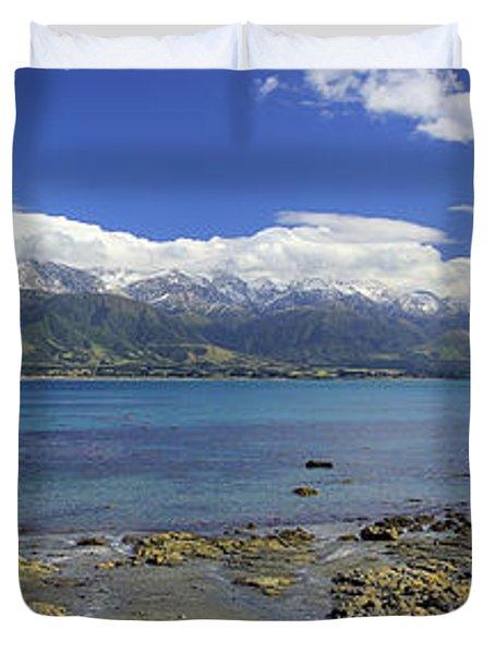Kaikoura Panorama Duvet Cover