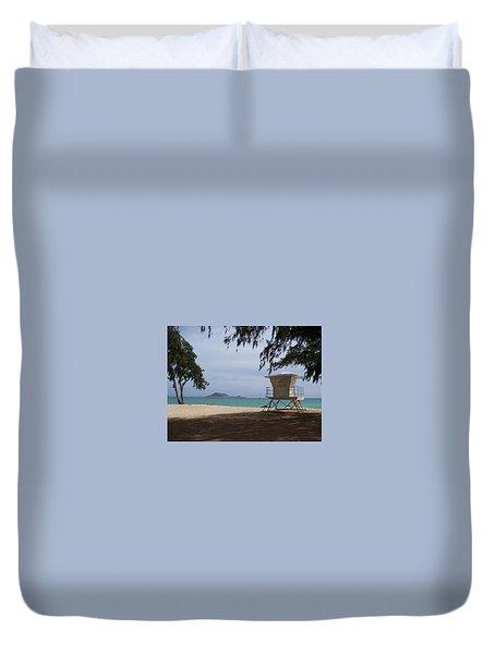 Kailua Beach Duvet Cover