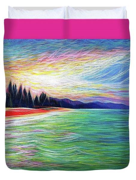 Kailua Surreal Duvet Cover