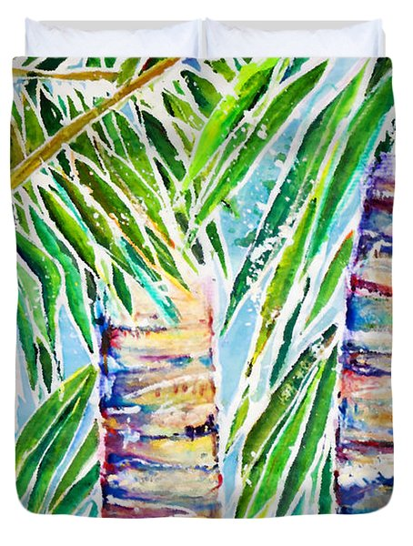 Kaimana Beach Duvet Cover by Julie Kerns Schaper - Printscapes