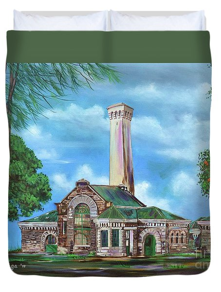 Kakaako Pumping Station Duvet Cover