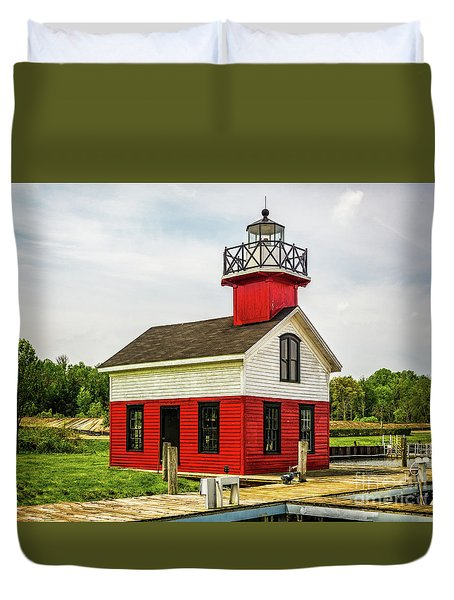 Kalamazoo Lighthouse Duvet Cover