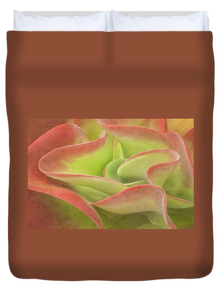 Kalanchoe Lucia The Beautiful Duvet Cover