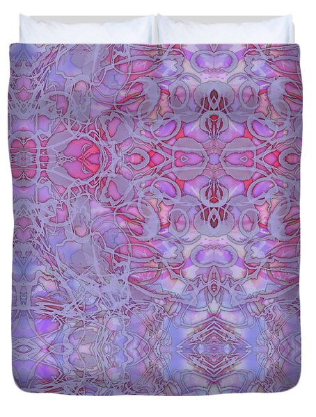 Kaleid Abstract Halo Duvet Cover