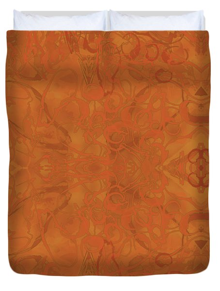 Kaleid Abstract Moroccan Duvet Cover