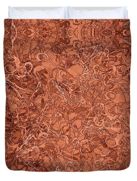 Kaleid Abstract Nest Duvet Cover