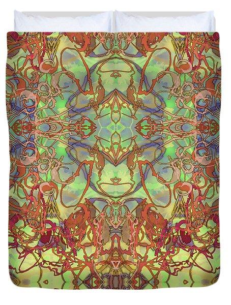 Kaleid Abstract Tapestry Duvet Cover