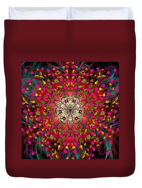 Kaleidoflower#7 Duvet Cover