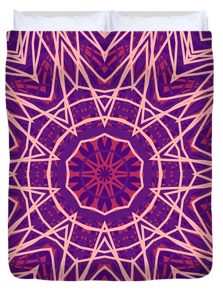 Kaleidoscope 147 Duvet Cover