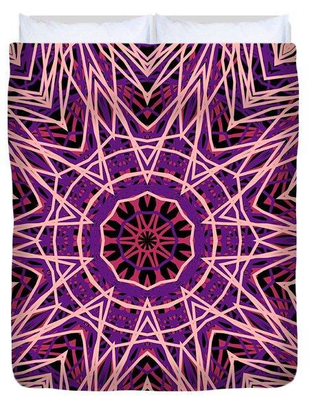 Kaleidoscope 147 Duvet Cover