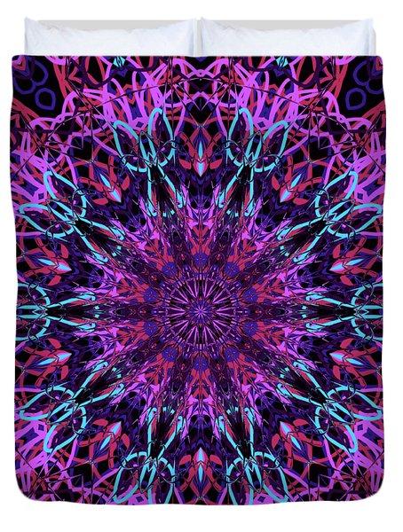Kaleidoscope 327 Duvet Cover