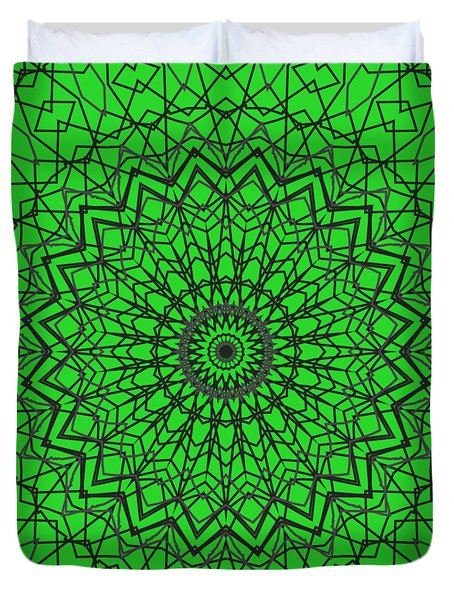 Kaleidoscope 408 Duvet Cover