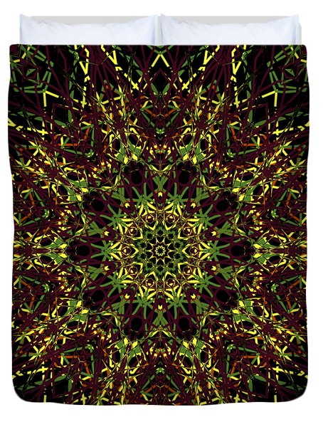 Kaleidoscope 58 Duvet Cover