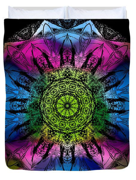 Kaleidoscope - Colorful Duvet Cover