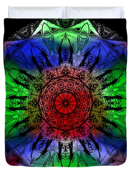 Kaleidoscope Duvet Cover