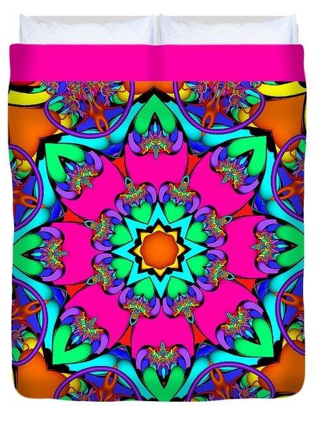Kaleidoscope Flower 03 Duvet Cover