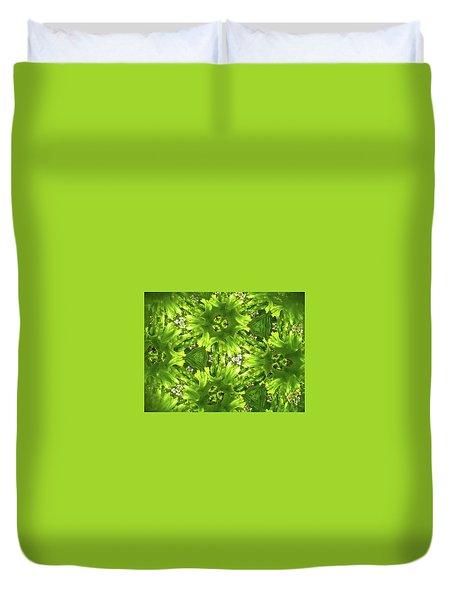 Kaleidoscope Flower Duvet Cover