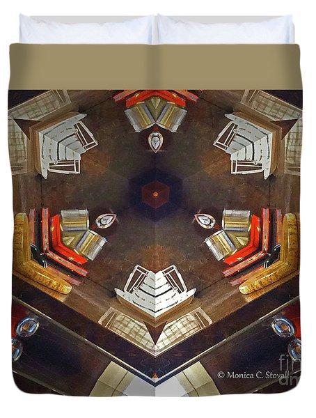 Kaleidoscope Mirror Effect 13 Duvet Cover