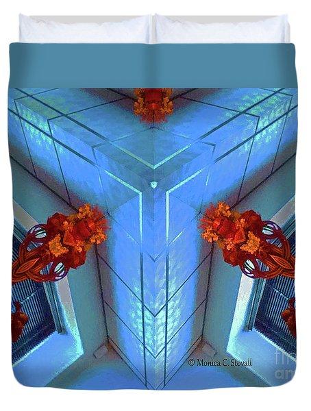 Kaleidoscope Mirror Effect M5 Duvet Cover