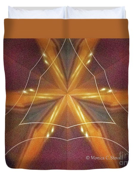 Kaleidoscope Mirror Effect M7 Duvet Cover